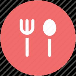 cutlery, food serving, fork, kitchen utensils, silverware, spoon, tableware icon