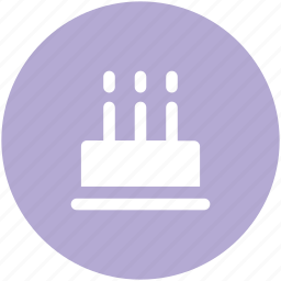 anniversary, birthday, birthday cake, cake, candles, celebration icon