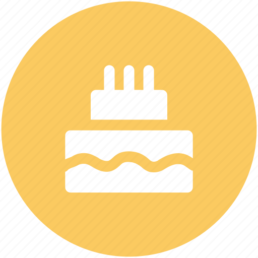 anniversary, birthday, birthday cake, cake, candles, celebration icon