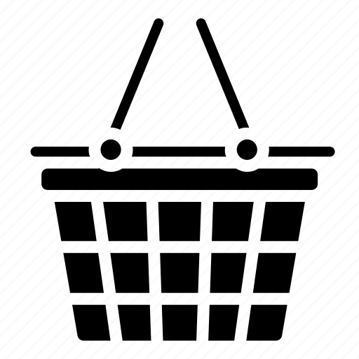 online shop, payment, shopping, shopping basket, supermarket icon