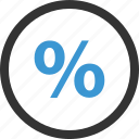 percent, percentage, rate, revenue, sales, selling icon