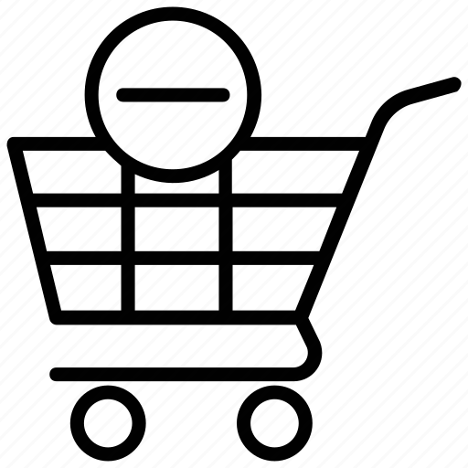 cancel order, cancel shopping, empty cart, remove from cart, submission button icon