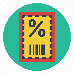 certificate, coupon, discount, gift, sale, savings, voucher icon