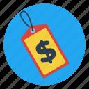 discount, dollar, pay, price, sale, savings, tag icon