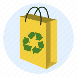 bag, environment, friendly, nature, recycle, recycling, responsible icon