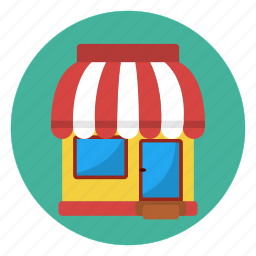 address, business, market, owner, shop, store icon