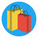 bags, carry, gift, present, shopping, souvenir, wrap icon