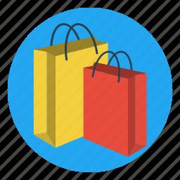 bags, carry, gift, present, shopping, souvenir, wrap icon