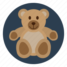 bear, child, childhood, kid, play, teddy, toy icon
