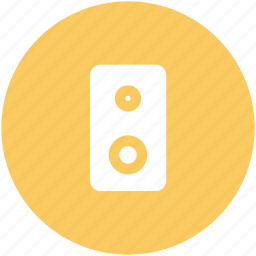 audio, concert, loud, sound, sound system, speaker, woofer icon