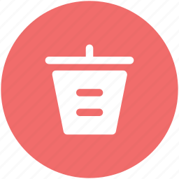clean environment, dustbin, garbage bin, garbage container, keep clean, recycle, trash can icon