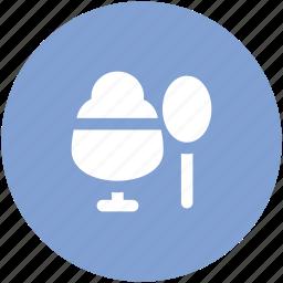 dairy product, dessert, food, frozen dessert, frozen food, ice cream, sweet icon