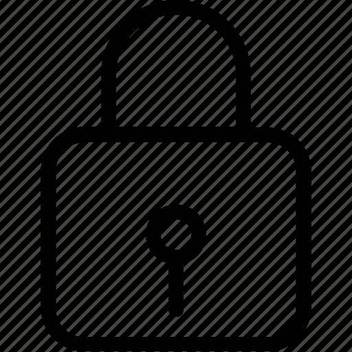 lock, locked, padlock, protection symbol, security sign icon