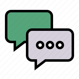 chat, comment, conversation, message, talk icon