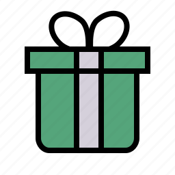 birthday, gift, party icon