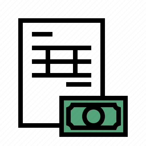 business, invoice, report icon