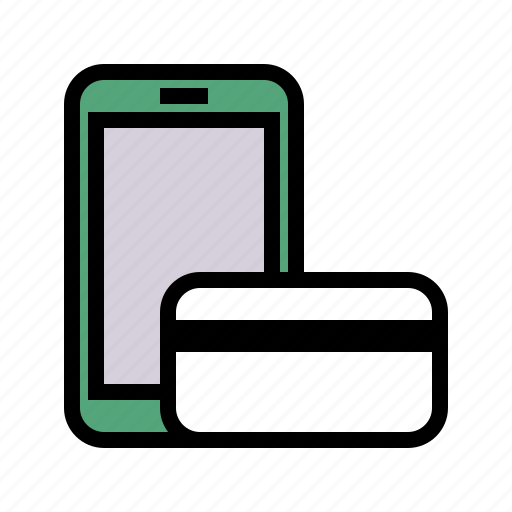 mobile, payment, smartphone icon