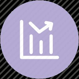 benefit, business chart, business growth, chart, increasing, profit chart, progress chart icon