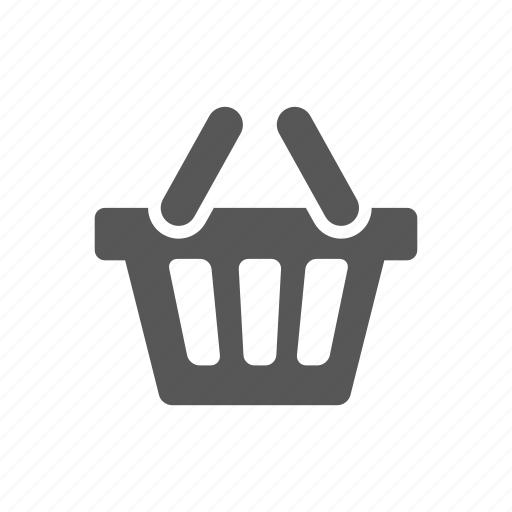 basket, cart, e-commerce, shopping bag, store icon