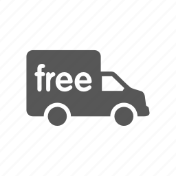 delivery, free, shipping, transport, transportation, truck, vehicle icon