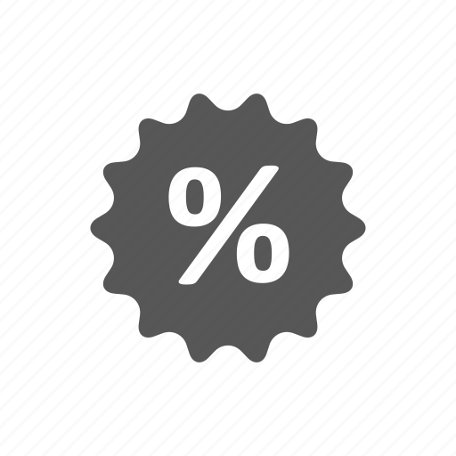 discount, percent, shop, shopping icon