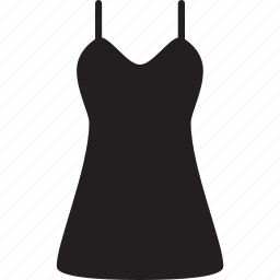 clothing, dress, female, summer, wear, woman icon