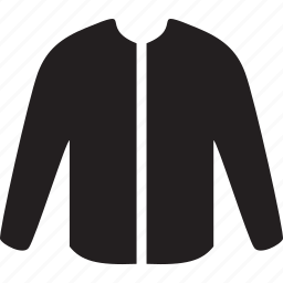 clothing, cold, jacket, man, wear, weather icon