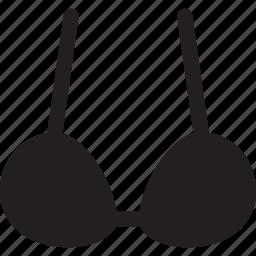 bra, clothing, swimsuit, underwear, woman icon