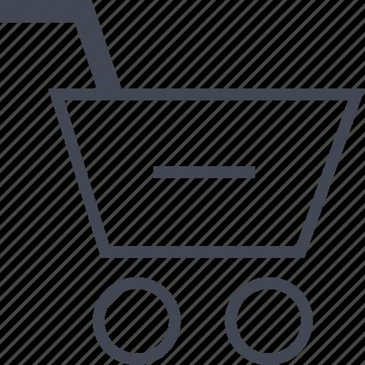 Cart, negative, online icon - Download on Iconfinder