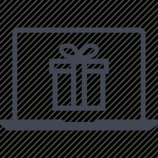 buy, gift, laptop, macys icon