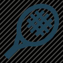 equipment, shopping, solid, sport, tennis, tennis racket, tennis racquet icon