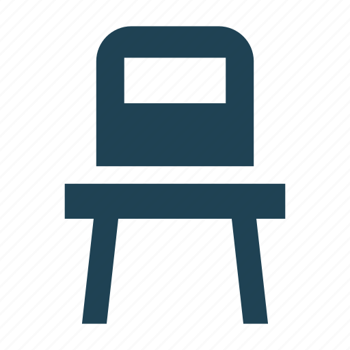 chair, diningroom, furniture, seat, shopping, solid, wooden icon
