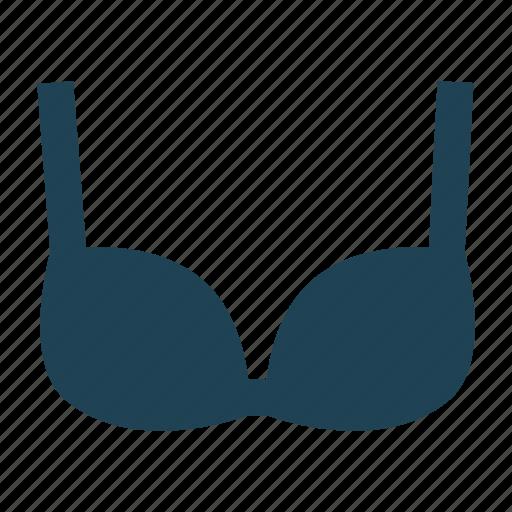 bikini, bra, brassiere, lingerie, shopping, solid, underwear icon