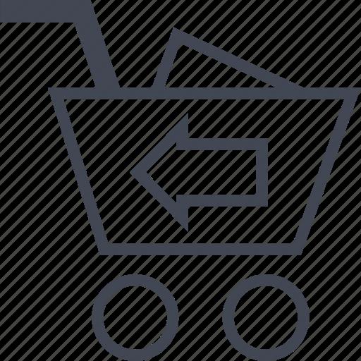 Add, back, cart icon - Download on Iconfinder on Iconfinder