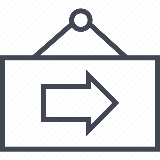 arrow, next, sign, store icon