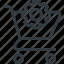buy, cart, settings, shop, store