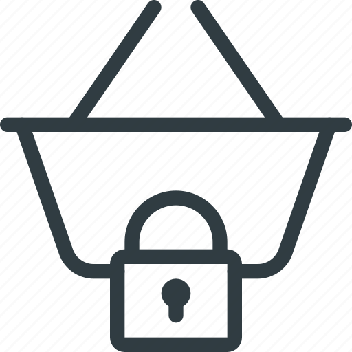 Basket, buy, lock, shop, shopping icon - Download on Iconfinder