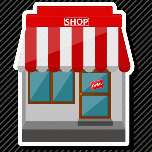 ecommerce, online shop, shop, store icon