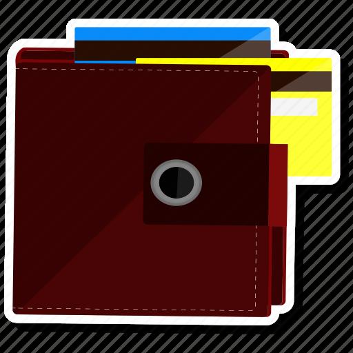 atm, bank card, cash, credit card, money, purse, wallet icon