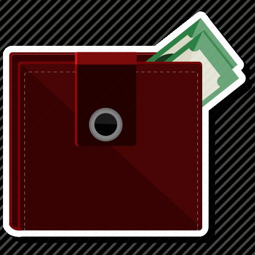 cash, dollar, money, purse, wallet icon