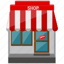 ecommerce, online shop, shop, store icon