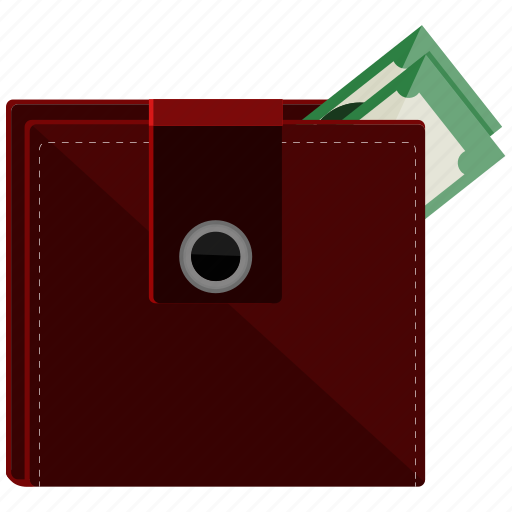 cash, dollar, money, purse, wallet icon