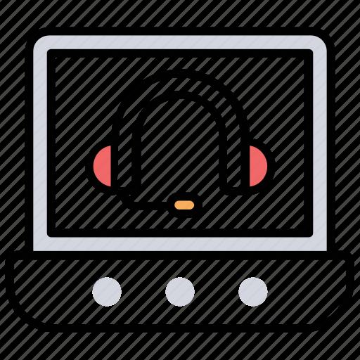 Csr, customer care, customer management, customer service representative, taking feedback icon - Download on Iconfinder
