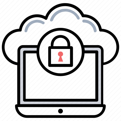 cloud computing concept, cloud computing protection, cloud computing security, cloud network encryption, virtual data protection icon