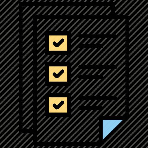 checklist, electronic wishlist, order wishlist, shopping list, wish list icon