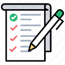ecommerce, product list, shopping checklist, shopping list, wishlist icon