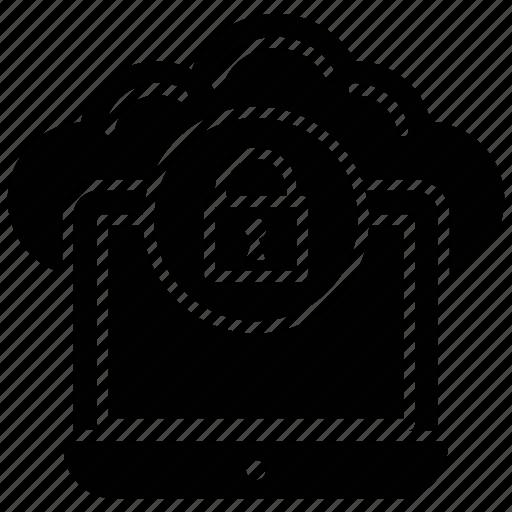 cloud computing concept, cloud computing protection, cloud computing security, cloud network encryption, virtual data protection icon