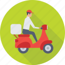 courier service, delivery boy, postman, shipping, package