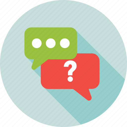 ask, chatting, faq, help, question mark icon