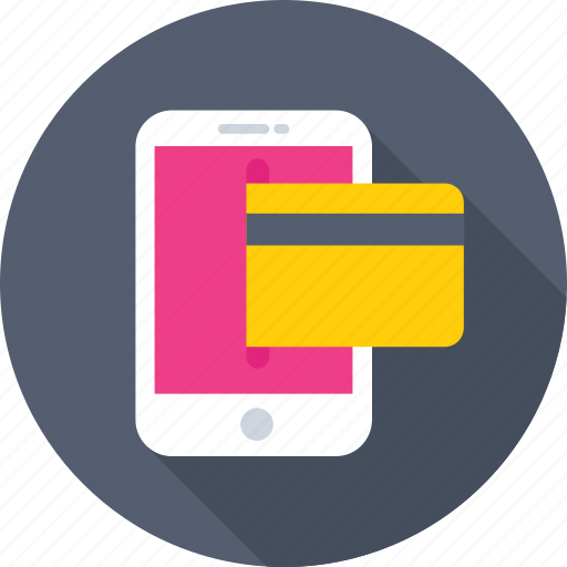 banking, banking app, m commerce, mobile, transaction icon